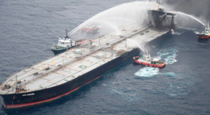 A Tanker Fights Back-and Wins!